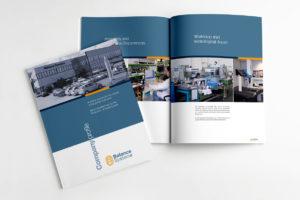 impaginazione grafica e stampa brochure aziendali