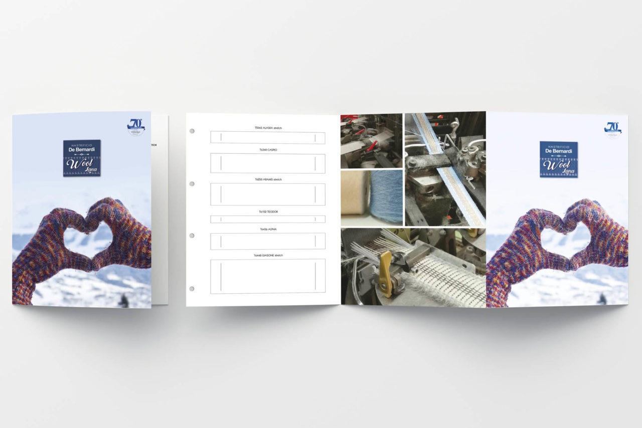 progettazione grafica brochure pieghevole