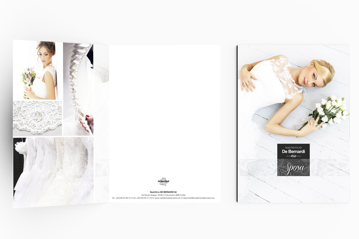 folder A4, realizzazione e stampa