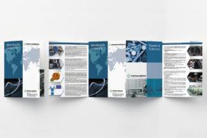 progettazione, impaginazione e realizzazione folder