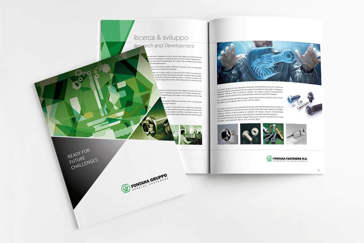 impaginazione brochure aziendale