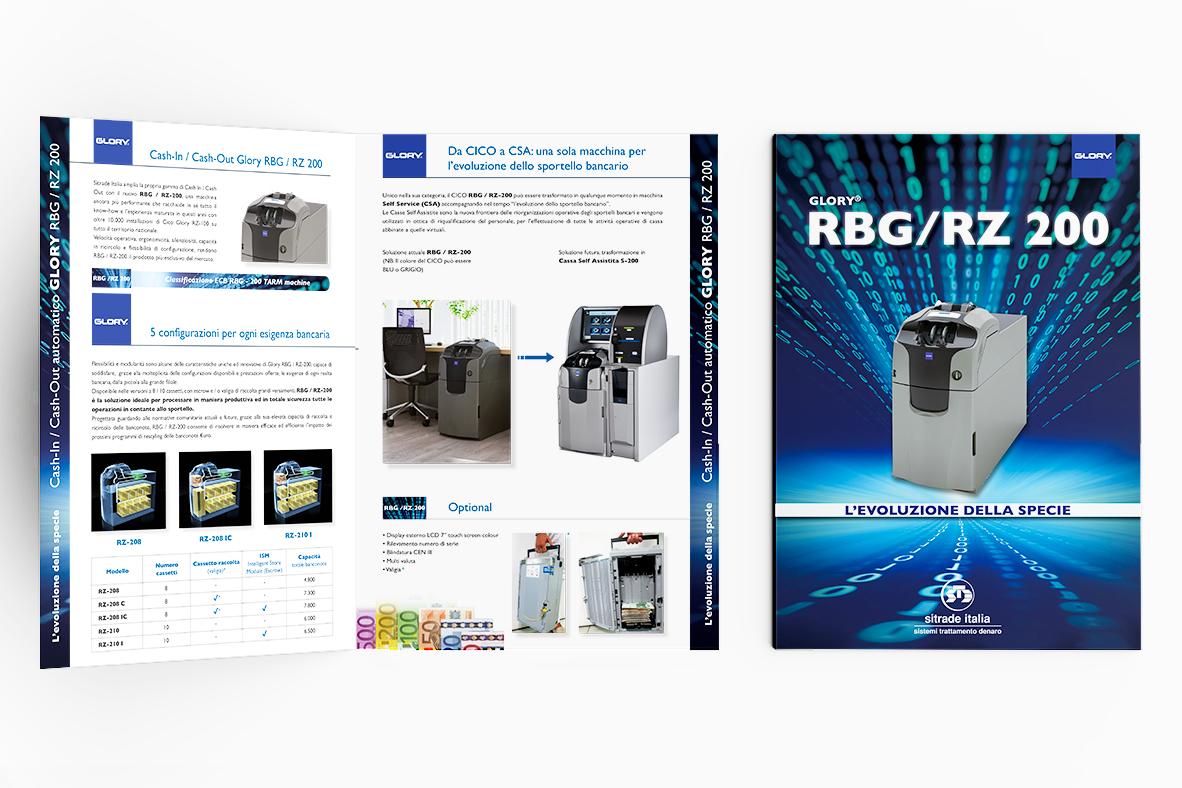 grafica e stampa quartino presentazione prodotto