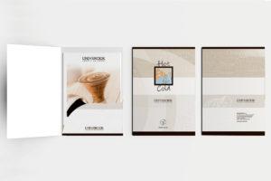 progettazione grafica cartelletta istituzionale