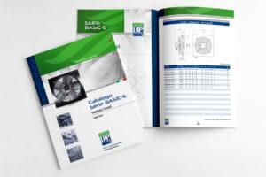 progettazione, impaginazione grafica e stampa catalogo prodotto